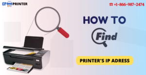 How to find Printers IP Address