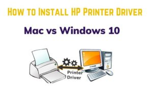 How to install an HP printer driver