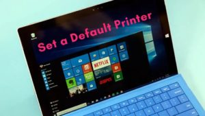 How to set a default printer in Windows 10