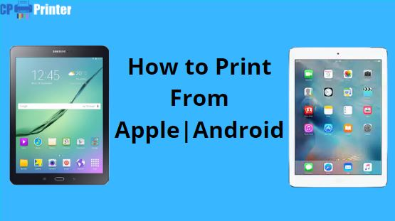 How to Print from a Tablet