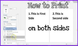how to print on both sides